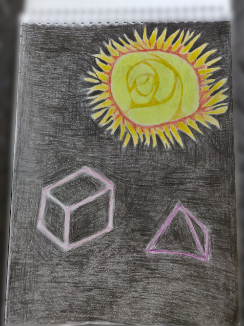 Солнце трисоляриса и 2 уровень комьютера из протонов